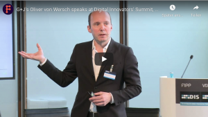 Oliver von Wersch at Digital Innovators' Summit